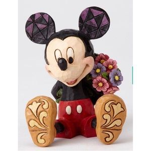Jim Shore Mini Mickey Mouse Figure